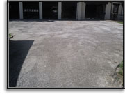 Driveways - before