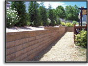 Retaining Wall - after